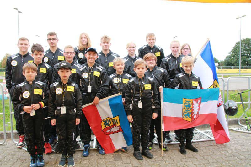 Norddeutsche Endlauf im Jugendkart Slalom